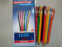 ELITE happy Ball Point Pen Blue EL-03