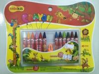 Colorkit Crayon CR-C018 12colors