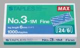 គ្រាប់កិប Max Staples No.3-1M 6mmFine 24/6
