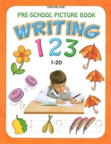 Writing 123 pre-school picture book