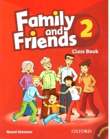 Family and Friend Class Book 2