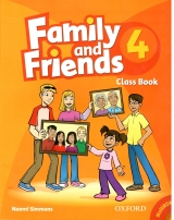 Family and Friend Class Book 4