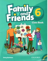 Family and Friend Class Book 6