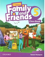 Family and Friends Class Book5 2nd